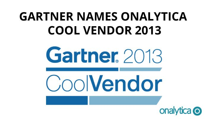 Gartner names Onalytica cool vendor 2013