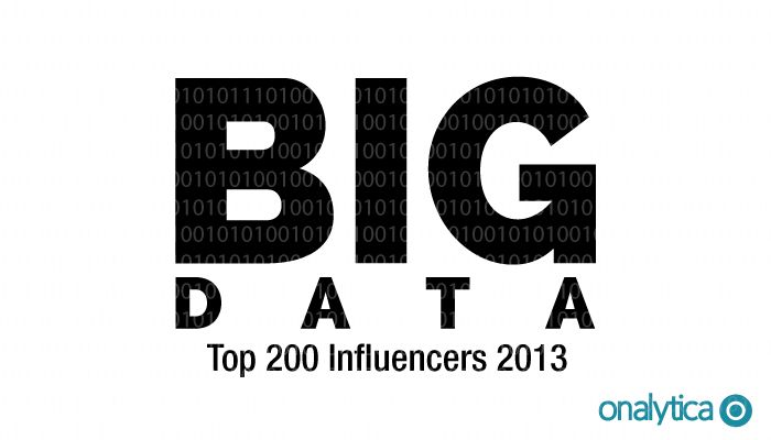 Onalytica - Big Data Top Influencers 2013