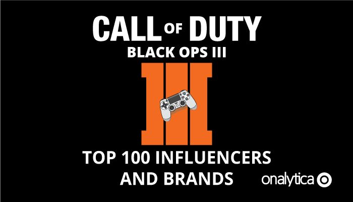 Onalytica - Call of Duty Top 100 Influencers and Brands