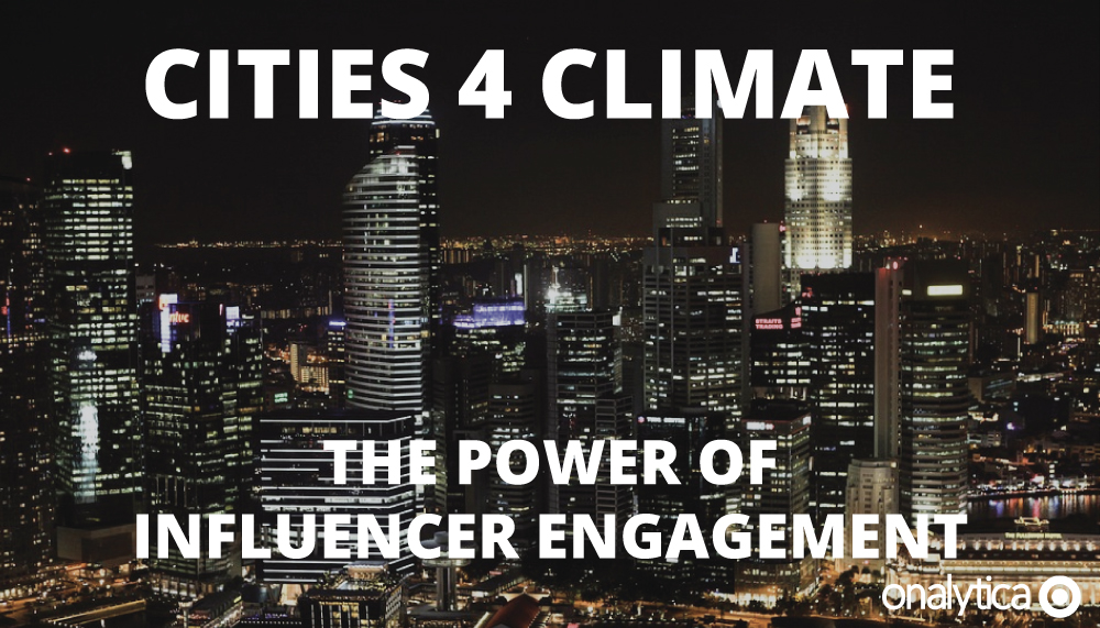Onalytica - Cities4Climate The Power of Influencer Engagement Cover