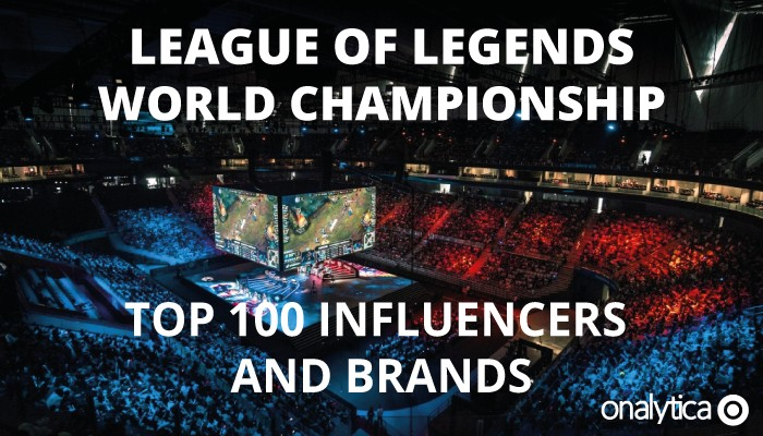 League of Legends World Championship: Top 100 Influencers