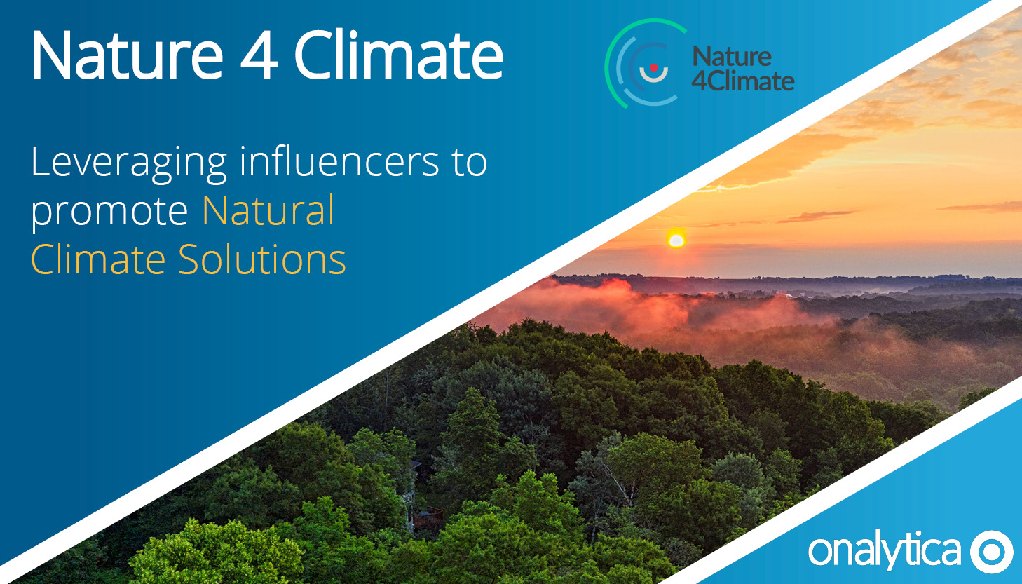Nature 4 Climate - Leveraging Influencers to Promote Natural Climate Solutions